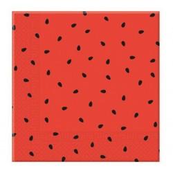 """Serwetki papierowe """"Watermelon"""", rozm. 33 x 33 cm, 20 szt."""