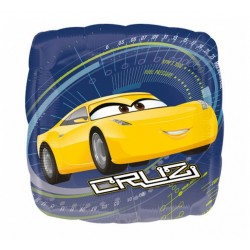 "Balon foliowy 18"" SQR - ""Cars 3 Cruz/Jackson"""