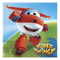 Serwetki papierowe Super Wings, 33x33cm, 20szt.
