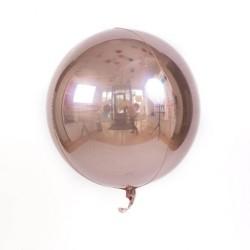Balon foliowy kula rose gold 60 cm