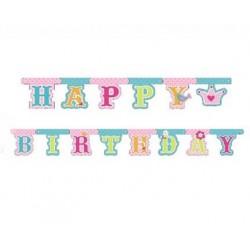 Girlanda Księżniczka Happy Birthday