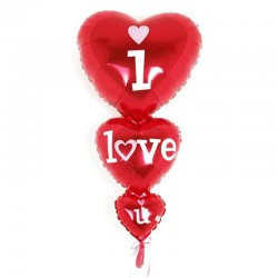 "Balon foliowy ""I love you"""