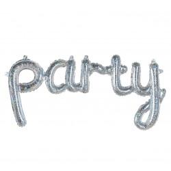 """Balon foliowy """"Party"""" holograficzny"""