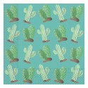 Serwetki papierowe Kaktusy, rozm. 33 x 33 cm, 20 szt.