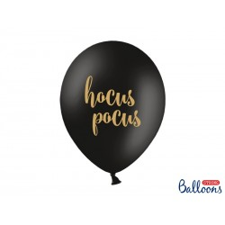 "Balon gumowy 14"" 30cm Hocus Pocus, czarne"