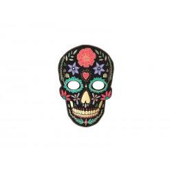 Maska Dia de Los Muertos, czarny, 19x28cm