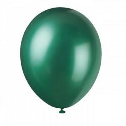 """Balon gumowy 30cm/14"""" butelkowa zieleń, metaliczny"""