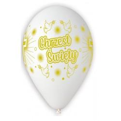 Balony Premium Chrzest, 13 cali / 5 szt.