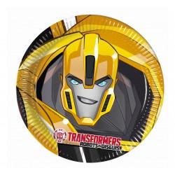 Talerzyki papierowe Transformers Power