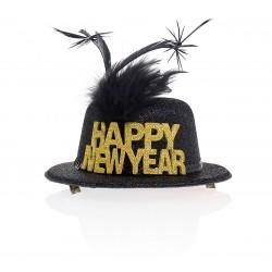 """Promocja Przypinka kapelusik """"Happy New Year"""""""