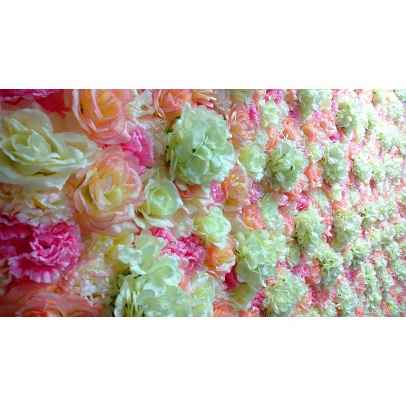 ścianka ślubna Kwiatowa Wynajem Partyszoppl Dekoracje