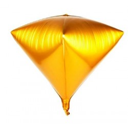 Balon DIAMOND 3D GOLD