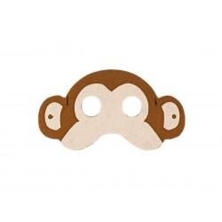 Maska filcowa Małpka