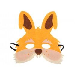 Maska filcowa Zajączek