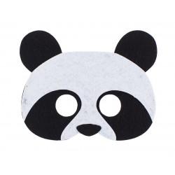 Maska filcowa PANDY dla dzieci