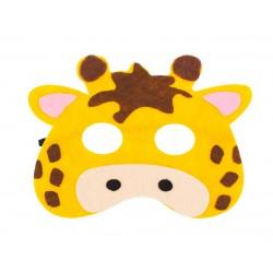 Maska filcowa ŻYRAFY dla dzieci