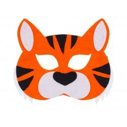 Maska filcowa TYGRYSA dla dzieci