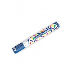 Tuba strzelajaca, kolorowe konfetti, 40 cm