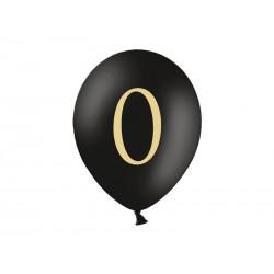 Balony 30cm, 0, Pastel Black, 1szt.