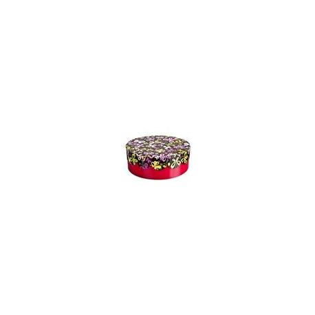 Pudełko ozdobne okrągłe, 21x7,5 cm