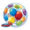 """Balon foliowy 22""""  Bubbles """"Baloniki"""""""