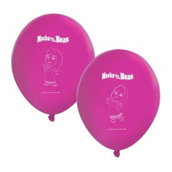 Balony Masha And The Bear, 8szt.
