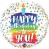 """Balon foliowy 18"""" HAPPY BIRTHDAY TO YOU"""