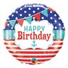 "Balon foliowy 18"", ""Happy Birthday"""
