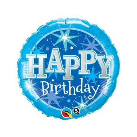 "Balon foliowy 18"", HAPPY Birthday"
