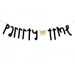 Baner Kotek - Parrrty Time, 12x130cm