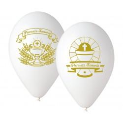 Balony Pierwsza Komunia, 5szt.