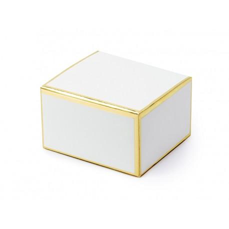 Pudełeczka, biały, 6x3,5x5,5cm