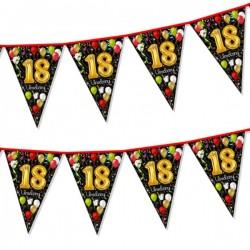Girlanda flagi 18 urodziny