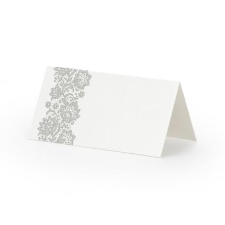 Wizytówki na stół, 8,5 x 4,5cm