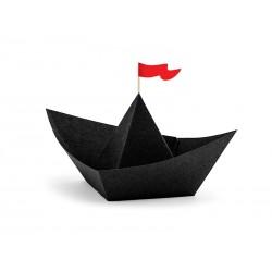Dekoracje papierowe Piraci - Łódki, 19x10x14cm (1 op. / 6 szt.)