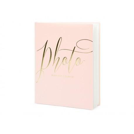 Album na zdjęcia Precious moments, 20x24,5cm, pudrowy róż, 22 kartki