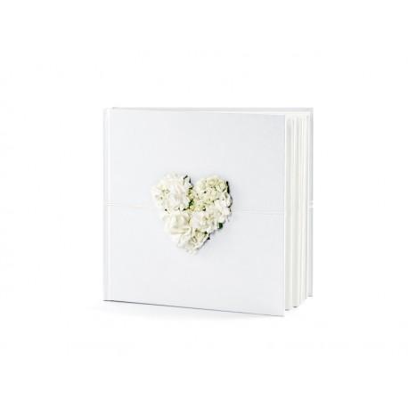 Księga Gości, 20,5 x 20,5cm, 60 kartek