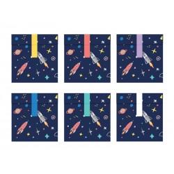 Torebki na słodycze Kosmos, 13x14cm