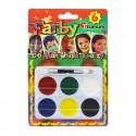 Farby do malowania twarzy i ciała 6 kolorów