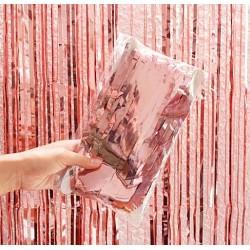 Kurtyna dekoracyjna 100X200cm ROSE GOLD