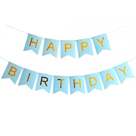 Baner urodzinowy Happy Birthday