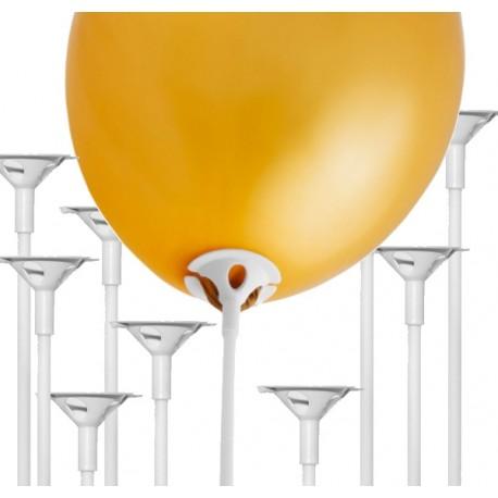 Patyczki do balonów, 100szt