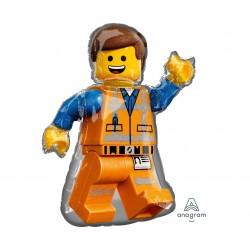 Balon foliowy Lego Emmet, 60x81 cm