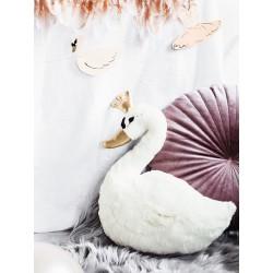 Maskotka Lovely Swan, 34x35cm