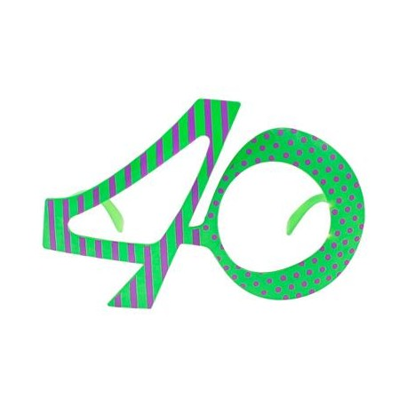 Okulary 40 urodziny
