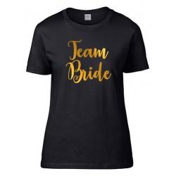 Koszulka personalizowana na Wieczór Panieński L czarna