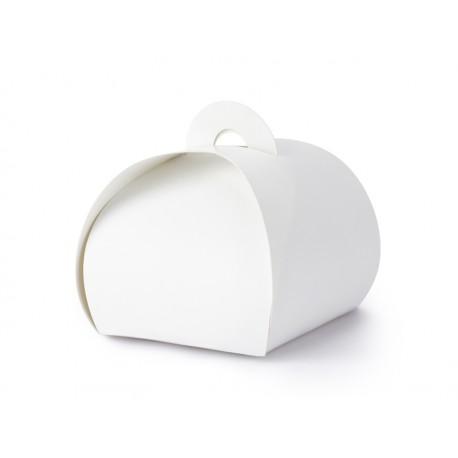 Białe Pudełeczka 6x6x5,5cm