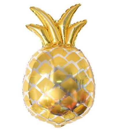 Balon w kształcie ananasa