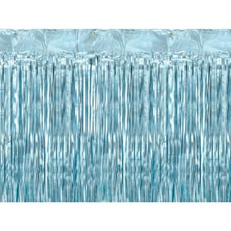 Kurtyna Party niebieski 90x250cm