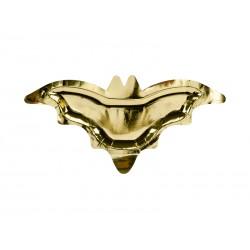 Talerzyki Nietoperz złoty 37,5x18,5cm